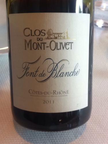 奥里维白枫园干白Clos du Mont Olivet Font de Blanche Blanc