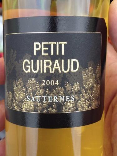 芝路酒庄副牌贵腐甜白Chateau Guiraud Petit Sauternes