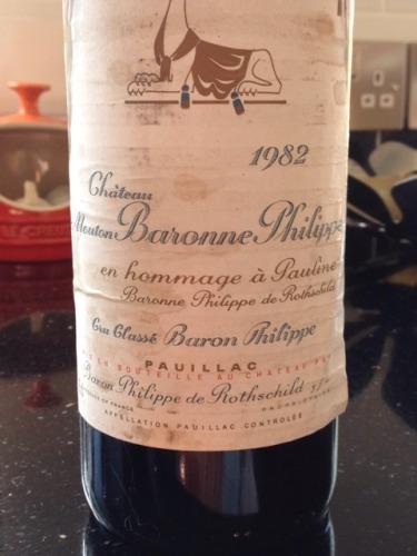 达玛雅克酒庄干红(旧称)Chateau Mouton-Baronne-Philippe