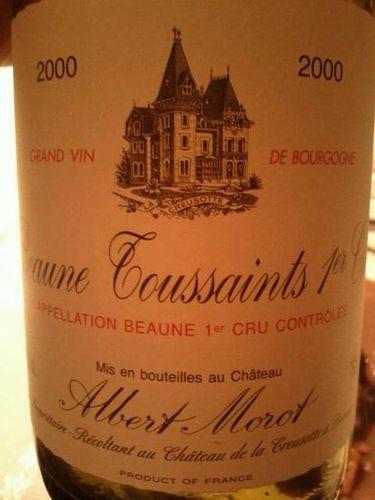 蒙露酒庄博纳万圣园红葡萄酒 Albert Morot Blles Beaune 1er Cru Les Toussaints