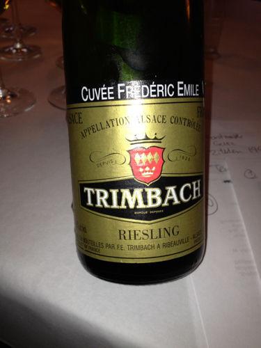 F E Trimbach Riesling Cuvee Frederic Emile