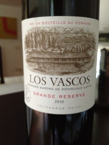 巴斯克特级珍藏干红Rothschild DBR-Lafite Los Vascos Grande Reserve