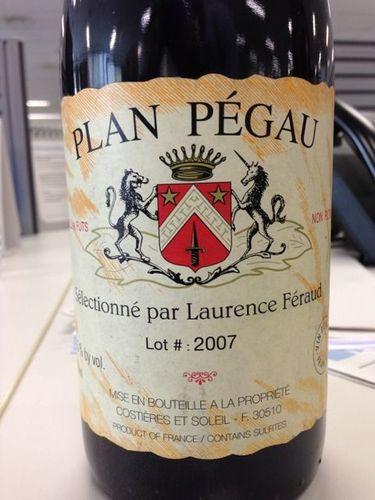 佩高劳伦斯费罗精选干红Domaine du Pegau Selection Laurence Feraud Plan Pegau