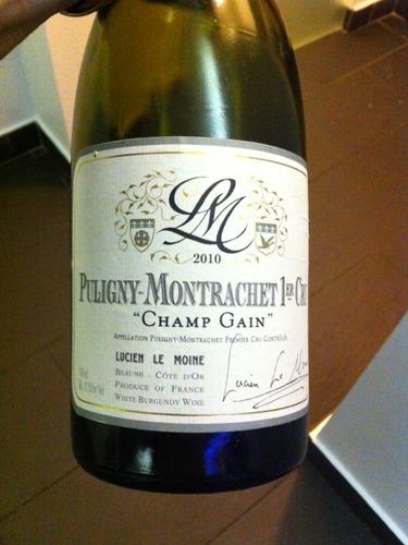 Champ Gain Puligny-Montrachet 1er Cru