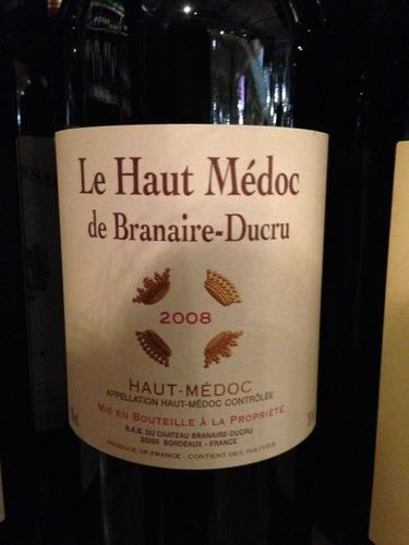 班尼尔上梅多克干红Le Haut-Medoc de Branaire-Ducru