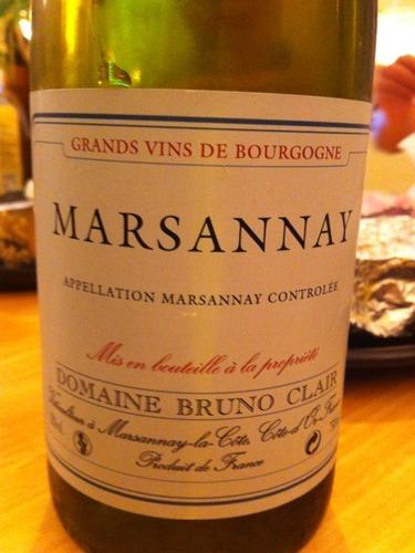 Grands Vins de Bourgogne Marsannay
