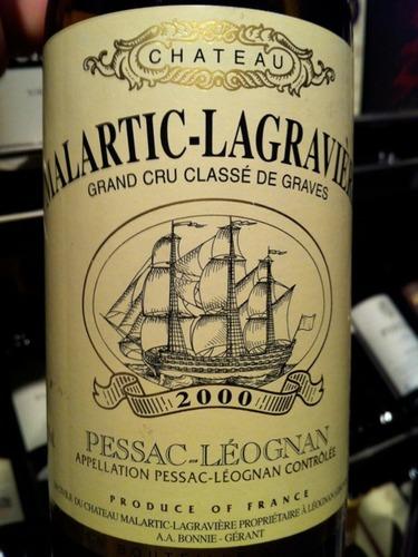 马拉狄酒庄干红Chateau Malartic-Lagraviere Rouge