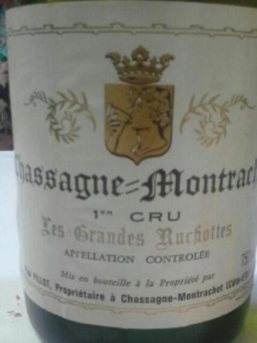 Grandes Ruchottes Chassagne-Montrachet 1er Cru