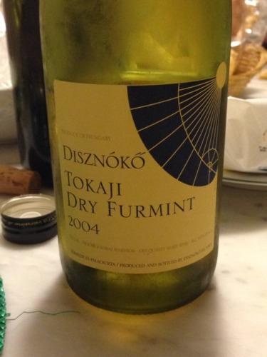 野猪岩托卡伊富尔民特干白Disznoko Tokaji Dry Furmint