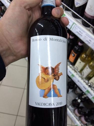 瓦迪卡罗索蒙达奇诺干红Valdicava Rosso di Montalcino