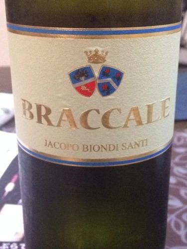 碧昂蒂仙蒂八克拉干白Jacopo Biondi Santi Braccale Bianco