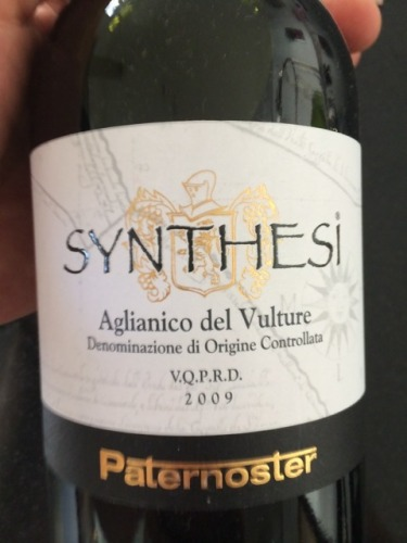 祈祷之语新塞斯干红Paternoster Synthesi Aglianico del Vulture