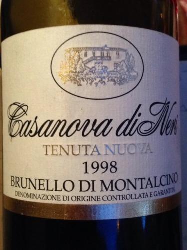 Casanova di Neri Brunello di Montalcino Tenuta Nuova