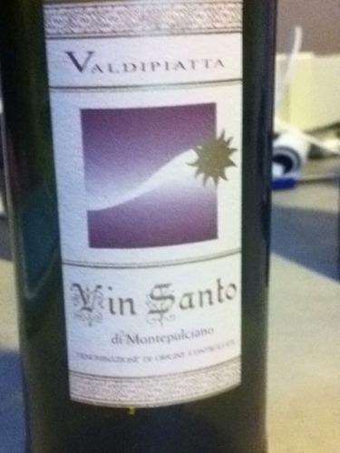 瓦蒂皮塔酒庄蒙特比洽诺圣甜白Valdipiatta Vin Santo di Montepulciano