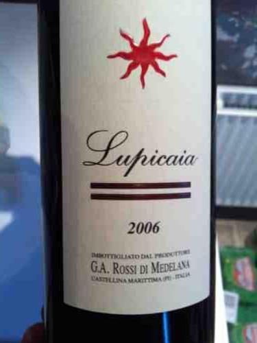 特里奇堡卢比卡亚红葡萄酒Castello del Terriccio Lupicaia