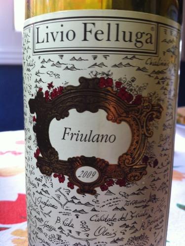 Livio Felluga Friulano Colli Orientali del Friuli