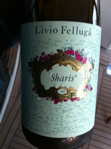 Livio Felluga Sharis Chardonnay-Ribolla Gialla