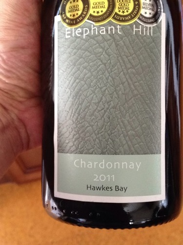 象山酒庄霞多丽白葡萄酒Elephant Hill Chardonnay