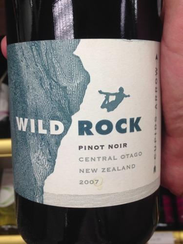 俏石爱神之箭黑皮诺干红Wild Rock Cupid's Arrow Pinot Noir