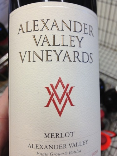 Valley Estate Bottled Merlot
