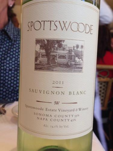 Napa County Sonoma Sauvignon Blanc