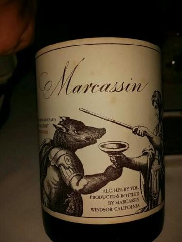 玛尔卡森园黑皮诺干红Marcassin Marcassin Vineyard Pinot Noir
