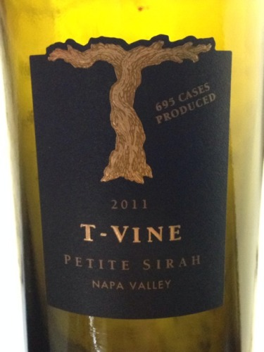 T-Vine Cellars Napa Valley Petite Sirah