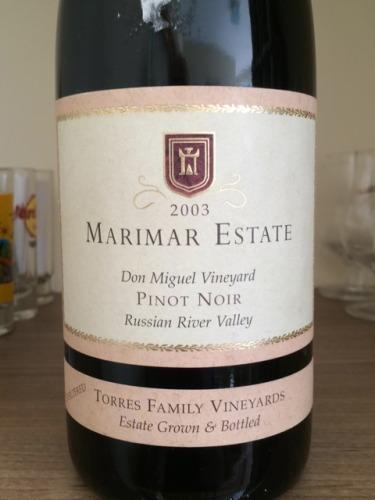 玛尔玛唐米格尔园黑皮诺干红Marimar Don Miguel Vineyard Pinot Noir
