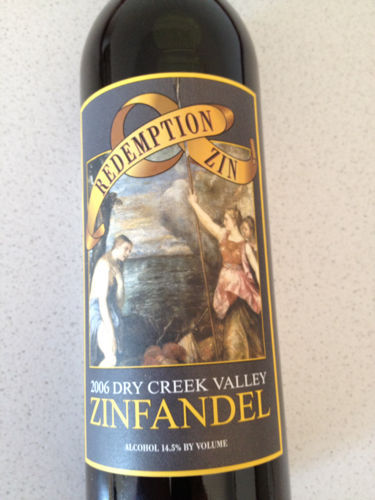 Valley Redemption Zin Zinfandel