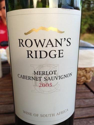 Rowan's Ridge Cabernet Sauvignon Merlot